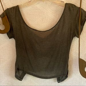 Brandy Melville Top Bows in Back
